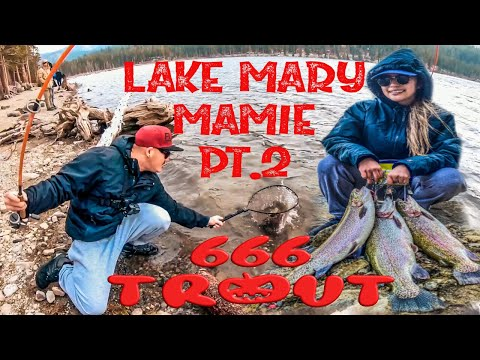 PT 2 | LAKE MARY | SHORE FISHING | MAMMOTH LAKES FISHING