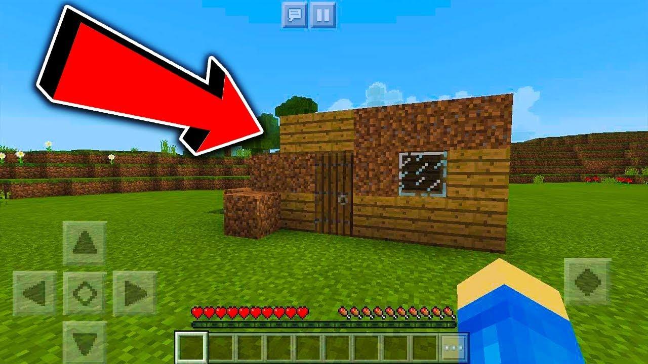 Minecraft na Telefon – mUj pierwszy domek! #2