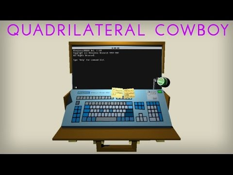 QUADRILATERAL COWBOY - Bergamont Bank Job  - With MaximumPower