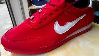 Обзор обуви! Кроссовки  красного цвета НОВИНКА