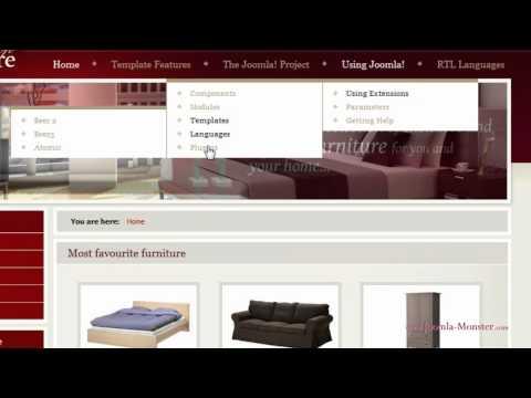 Title: Joomla 2.5 Template: DJ Furniture  [OLD] Joomla Template: DJ-Furniture