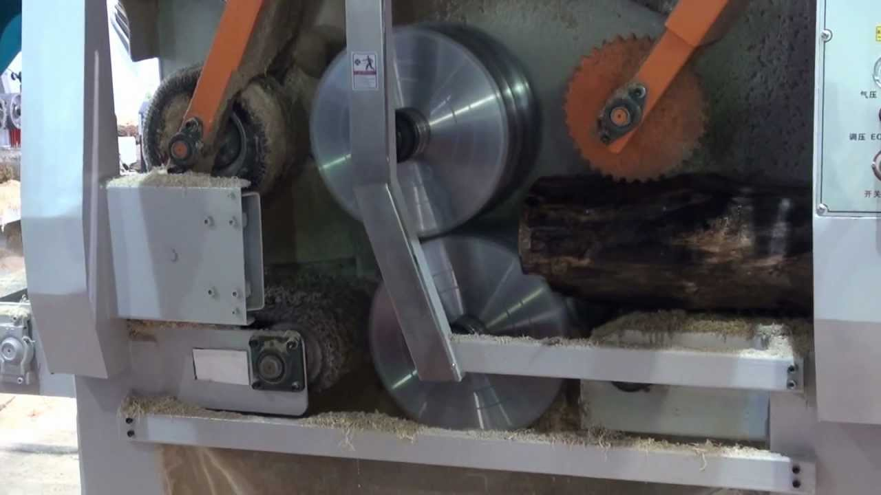 wood log saw machine
