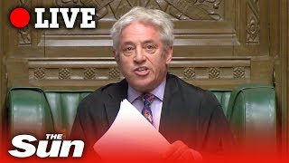 Bercow BLOCKS Boris' Brexit deal vote | Parliament LIVE