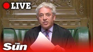 Bercow BLOCKS Boris' Brexit deal vote | Parliament LIVE