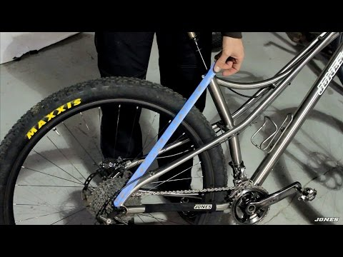 Jeff talks about the Jones 29 Spaceframe bicycle