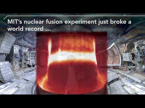 MIT Set a Nuclear Fusion World Record