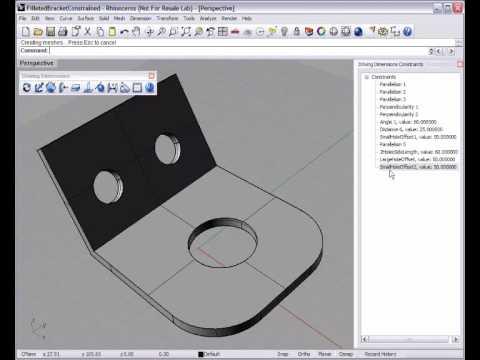 Direct Editing in Rhino 3D