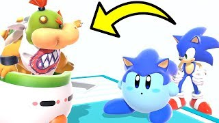 Baby Sonic And Bowser Jr Go To School! - Super Smash Bros Ultimate Movie
