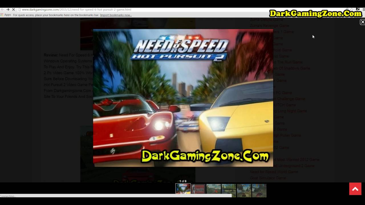 need for speed 6 hot pursuit 2 download