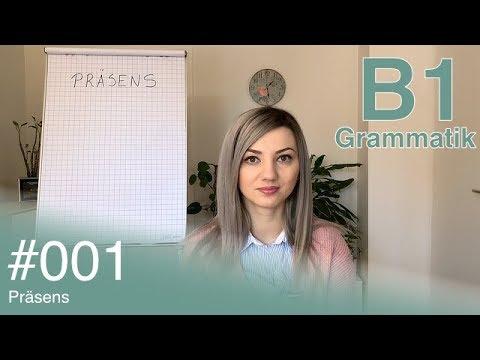 Njemački za početnike: Deutsch B1 Grammatik - #001 - Präsens