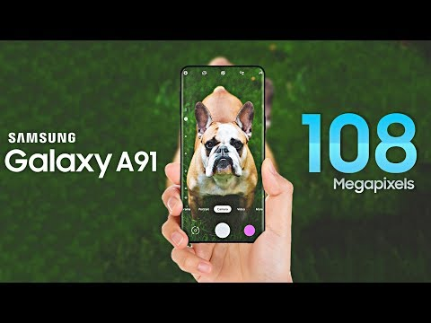 Samsung Galaxy A91 MEGAPIXEL SURPRISE