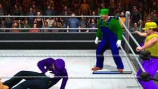Mario bros  vs Wario bros