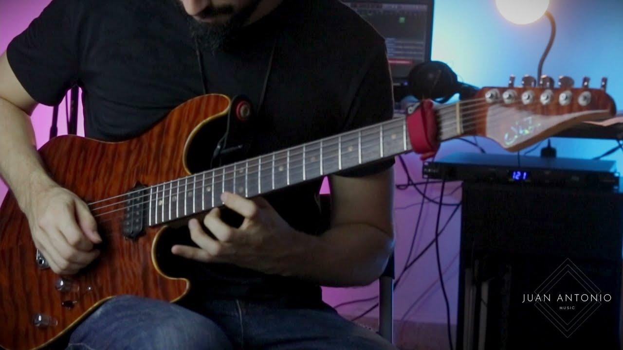 Jazz Rock Funk Fusion Guitar Solo Improvisation