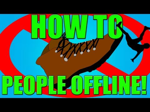 How To Boot/DDoS People Offline! (Easy Method!)