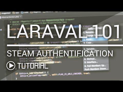 Laravel 5.1 101 - Steam Authentication