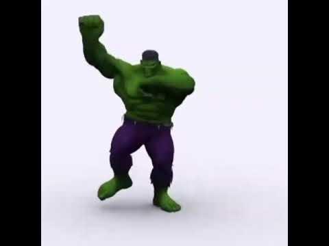 Hulk dancing Gangnam Style