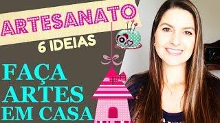 ❤ COMO GANHAR DINHEIRO COM ARTESANATO - 6 Ideias de Negócios Lucrativos - Juliana Zammar