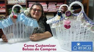 Como Customizar Bolsas de Compras