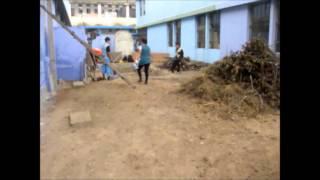 Limpieza y Pintado en el Colegio Luis Braille - Festikids Peru