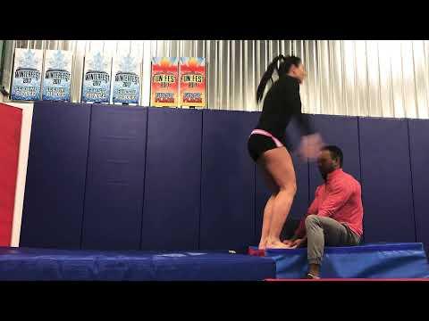 NOVA in Acrobatics Training