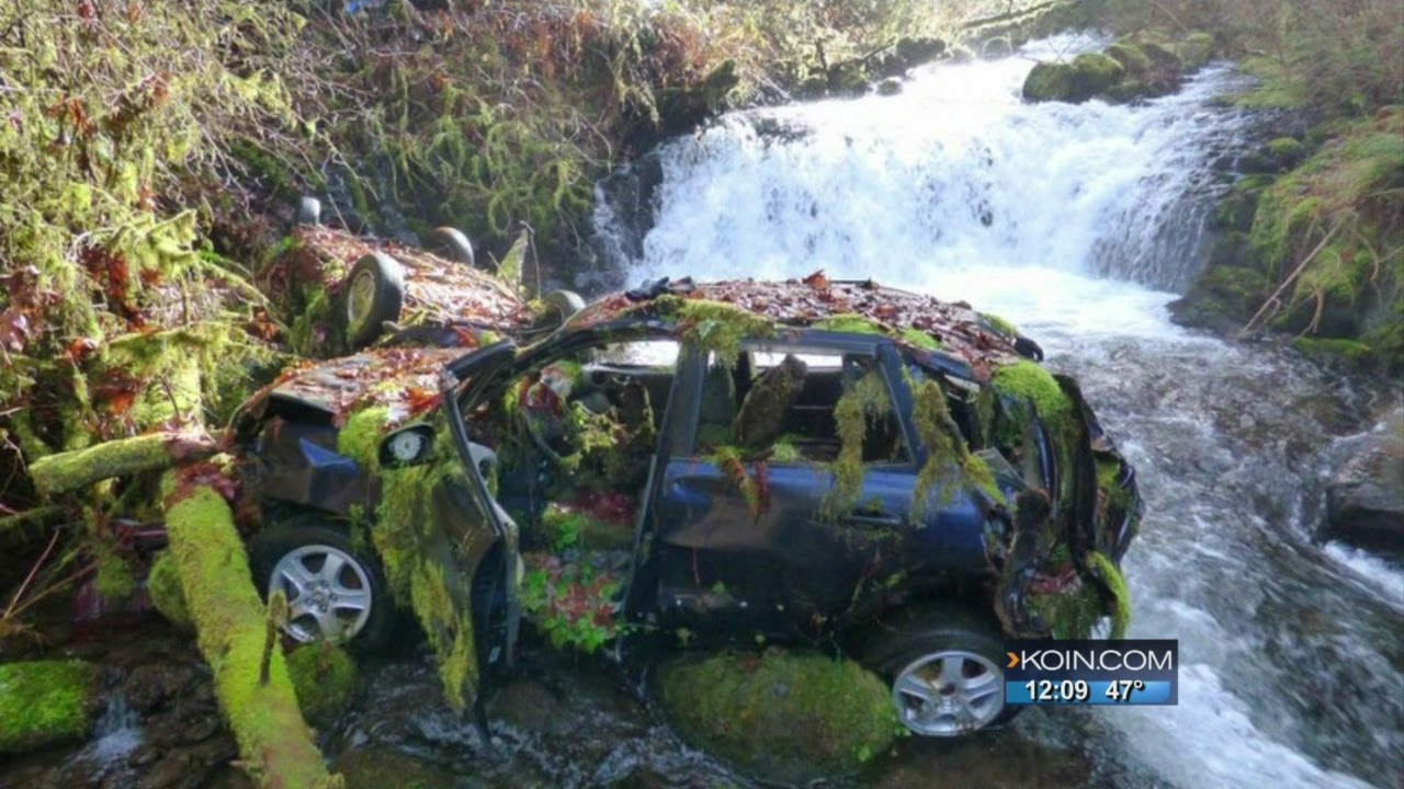 The Columbia River Gorge S Abandoned Car Problem Youtube