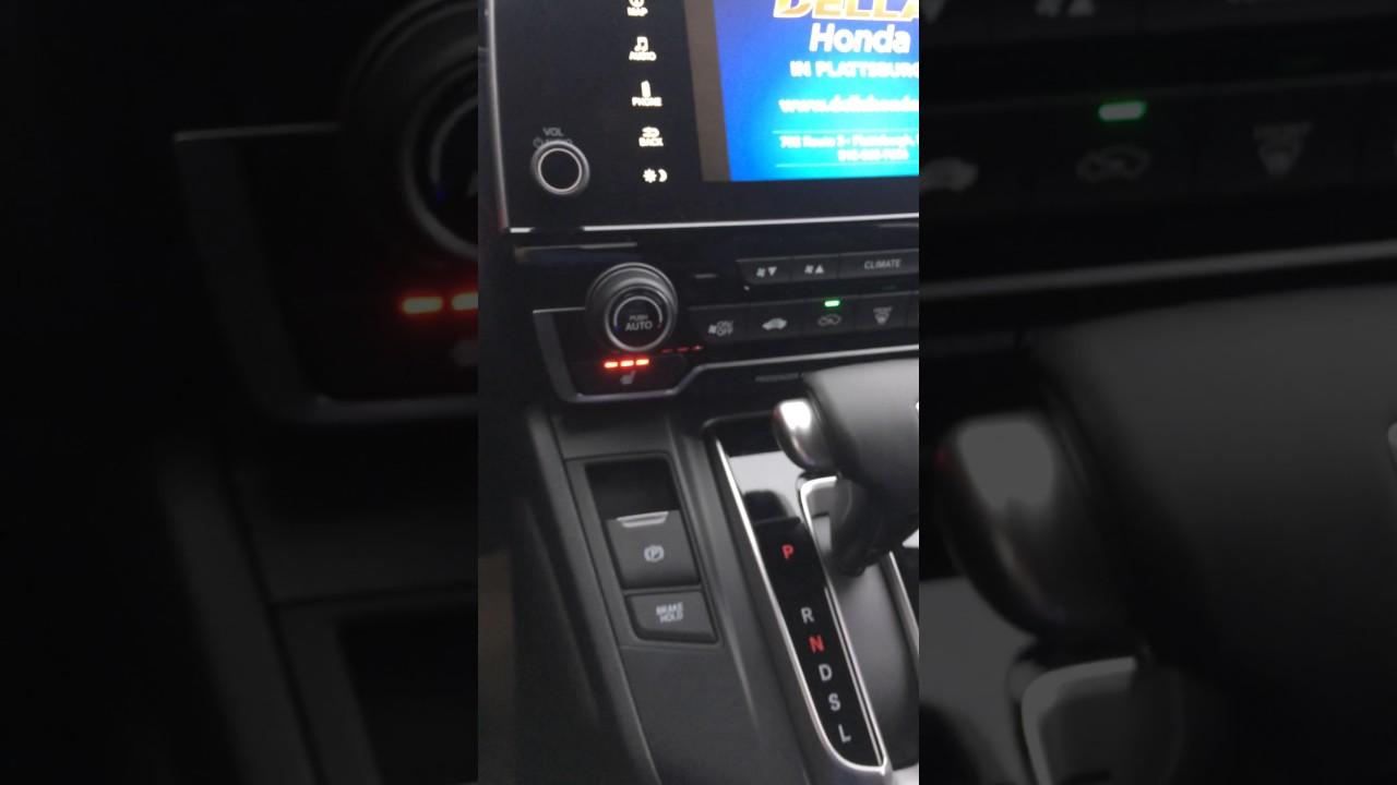 2017 Honda Cr V Electronic Parking Brake