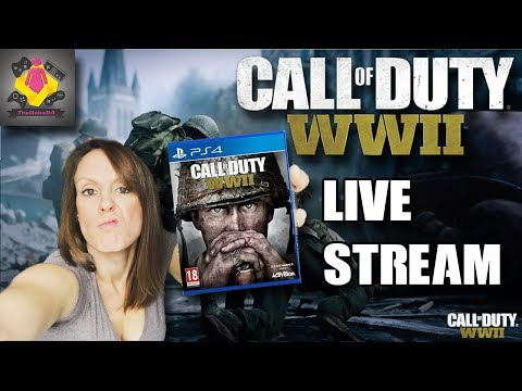 🔵  Call Of Duty WWII Multiplayer LIVE STREAM   CoD WW2 PS4 PRO Gameplay 🔴   TheGebs24