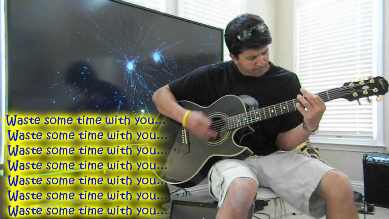 the used blue and yellow lyrics guitar cover youtube. Black Bedroom Furniture Sets. Home Design Ideas
