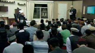 Gulshan-e-Waqfe Nau (Khuddam) Class: 8th November 2009 (Part 4)