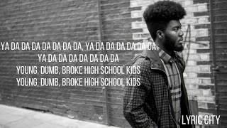 Imagine Dragons, Khalid - Thunder / Young Dumb & Broke (Lyrics)