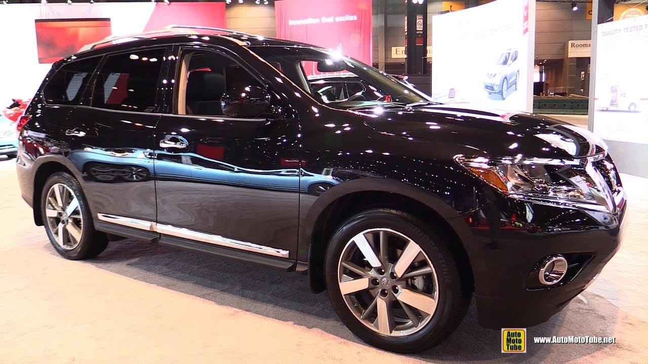 2015 Nissan Pathfinder Platinum Exterior and Interior Walkaround