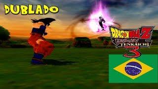 PT-BR Uma Vingança Para Frieza   Goku VS Cooler Dublado - Dragon Ball Z Budokai Tenkaichi 3 Brasil
