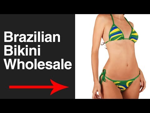 Brazilian Bikini Wholesale - Import Bikinis and Lingeries from Brazil - Supplier