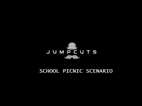 Jump cuts school picnic scenario