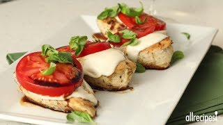 Mediterranean Recipes - How to Make Caprese Chicken