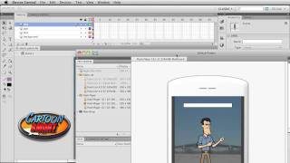 Part1: Flash CS5 Tutorial on Actionscript 3 Touch Events for Mobile or Touch-Enabled Devices