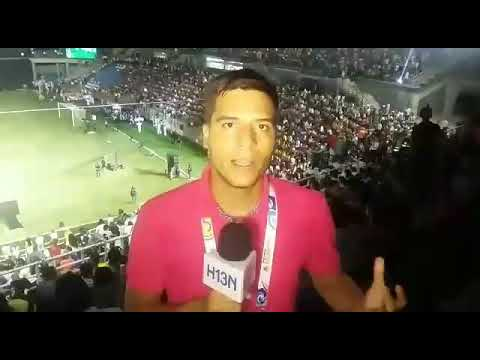 Inauguración de los Juegos Bolivarianos en Santa Marta