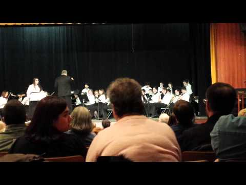 Pilgrim High School concert February 2015