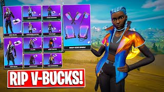 Buying All WRAP SKINS! Gameplay + Combos! Before You Buy (Fortnite Battle Royale)
