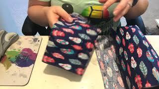 Start to finish fabric tumbler