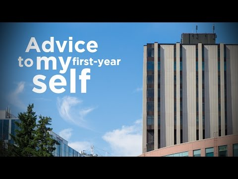 Advice to My First Year Self