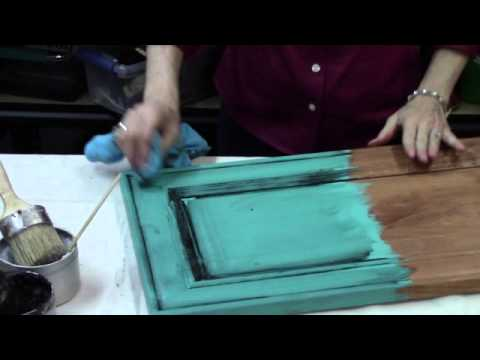 Vintage Market & Design ® Furniture Paint-Waxing - Vintage Market & Design ® Furniture Paint-Waxing - YouTube