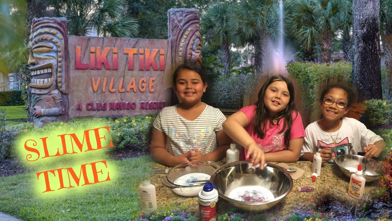 slime time at the liki tiki resort in orlando youtube