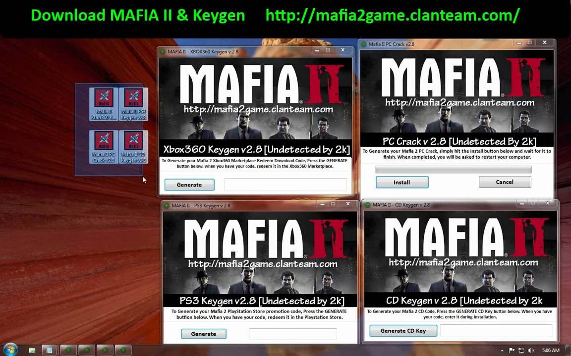 □ Mafia 2 □ CRACKED □ No Serial Number Needed - YouTube