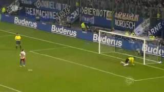 DFB Pokal Halbfinale HSV vs. Werder Elfmeter Schießen 22 04 2009