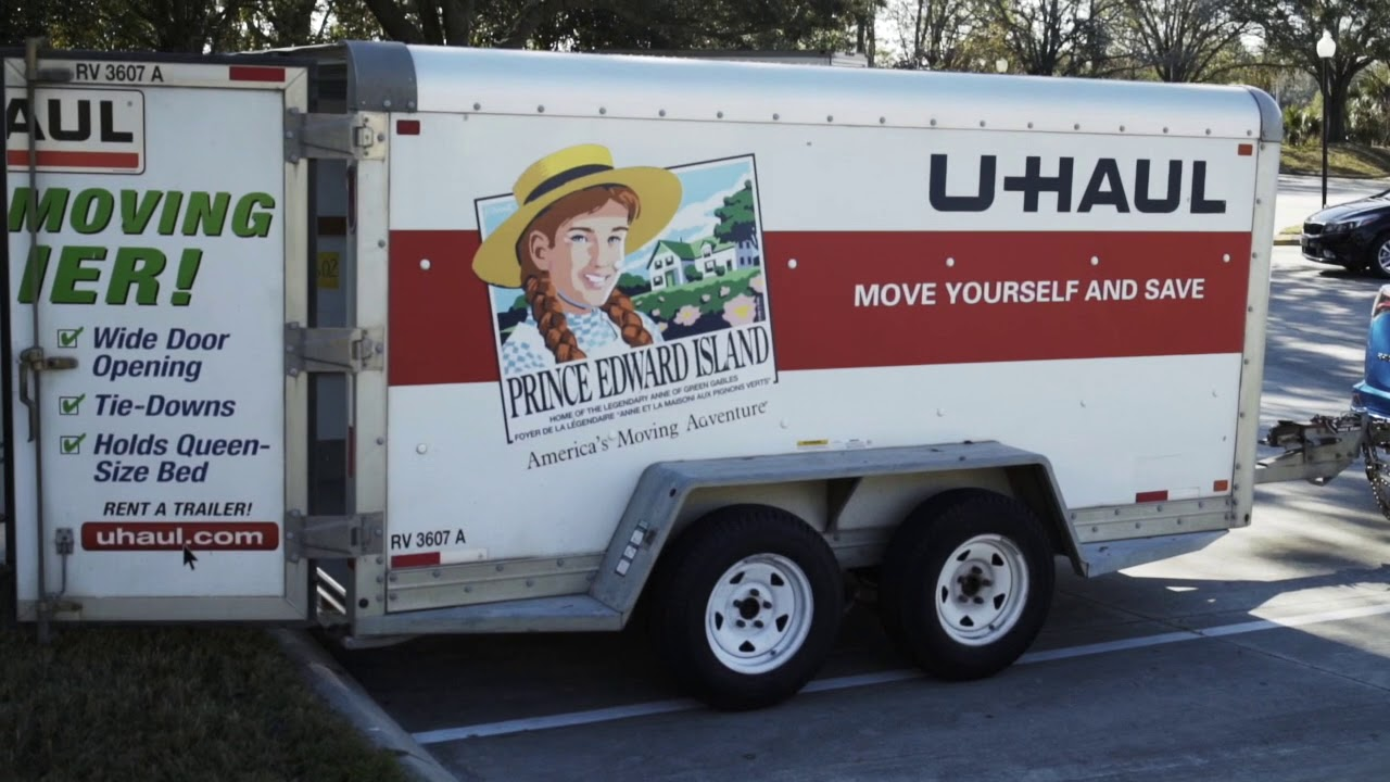 U Haul Trailer Sizes >> Towing 6x12 Uhaul With Toyota Rav4 2016 Don T Try This At Home