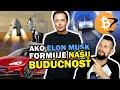 Revolučné projekty Elona Muska: SpaceX, Tesla, Boring Company, Neuralink, OpenAI a možno aj Bitcoin?