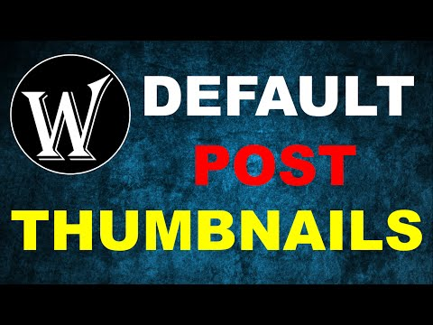 Default Post Thumbnails in Wordpress| FPW Category Thumbnails