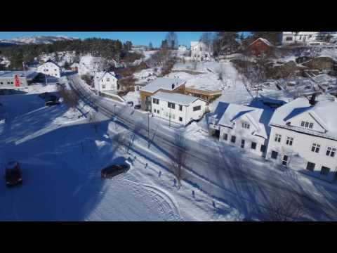 Drone flyging Treungen, Nissedal Norway