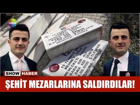 Download Şehit mezarlarına saldırdılar!